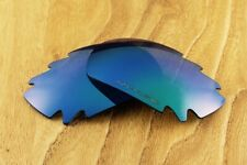 Ocean Blue Green Polarized Vented Mirrored Replacement Lenses for Oakley Jawbone