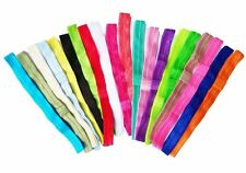 10 x Premade FOE Headbands Mix Assorted Colours