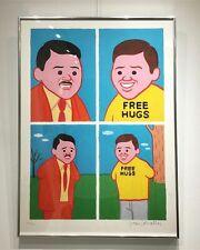 Joan Cornella   Signed Print 'FREE HUGS'