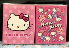 NEW Cute HELLO KITTY Sticky Note Memo Pads Folding Book Message Paper Girl Gift