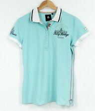 GAASTRA Polo Shirt Green Blue Explorer Traveler Womens Size XL
