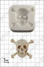 Silicone mould Skull & Crossbones | Food Use FPC Sugarcraft FREE UK shipping!
