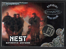 TRANSFORMERS OPTIMUM COLLECTION Breygent 2013 Costume Card #TC1 VARIANT PATCH