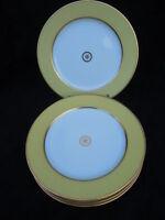 Assiettes plates Sparte Vanille porcelaine Bernardaud Limoges France