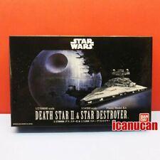 Bandai [Star Wars] Death Star II & Star Destroyer plastic model kits #0230358