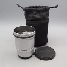 Sony Tele End Conversion Lens VCL-DEH17V w/ End Caps & Protective Bag