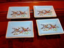 Set 4 vintage miniature plates / butter ATC Super Deluxe AUTOMATIC  Japan