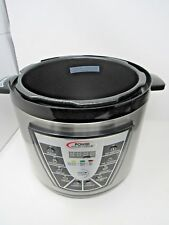 Power Pressure Cooker XL Base Only NOT WORKING For Parts 6 Quart
