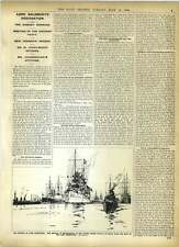 1902 Us Cruiser Brooklyn Funeral Of Lord Pauncefote City Fire Inquest