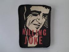 KILLING JOKE  PatchOriginal 80er Vintage Aufnäher 8x10 cm  Punk Rock  The Clash