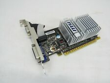 MSI NVIDIA GeForce 8400 GS (N8400GSD512H) 512MB GDDR2 SDRAM PCI Express x16...