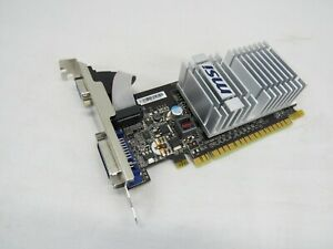 MSI NVIDIA GeForce 8400 GS (N8400GSD512H) 512MB GDDR2 SDRAM PCI Express x16...
