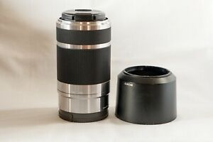 Sony E mount sel 55/210  4.5-6.3 telephoto lens