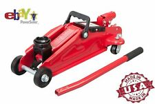 Hydraulic Trolley Jack Car Truck 2 Ton Lift Twist Auto Repair Heavy Duty Steel