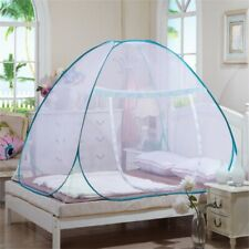Mosquito Net Bed Queen Size Home Bedding Lace Canopy Elegant Net Netting Home
