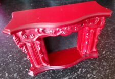 Vintage solid Dolls house fireplace