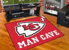 "Kansas City Chiefs NFL All Star Man Cave Area Rug Floor Mat 34"" x 45"""