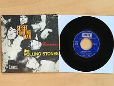 45T THE ROLLING STONES - STREET FIGHTING MAN  (AVEC LANGUETTE) - EXCELLENT ETAT