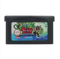 Nintendo GBA Video Game Console Card Cartridge Metal Slug Advance