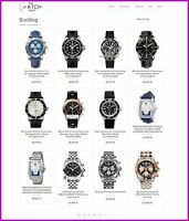 US-TOP BRAND WATCH Website|FREE Domain|Make££$$$|100% GUARANTEED or Pay NOTHING!