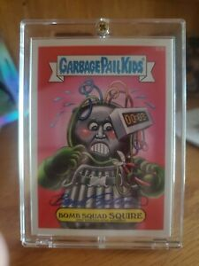 Garbage Pail Kids Auto BRENT ENGSTROM Bomb Squad Squire Artist Autograph 🔥🔥🔥