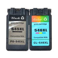 1PK PG 545XL + 1PK CL 546XL Ink Cartridge Compatible with Canon PIXMA MX495