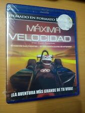 IMAX: SUPER SPEEDWAY BLU-RAY BRAND NEW ALL REGION ENGLISH FRENCH SPANISH