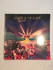"SuperTramp ""Paris"" LP  No Scratches"