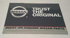 Nissan Trust The Original Insist On Genuine Parts Metal Dealer Sign 2011 USA HTF