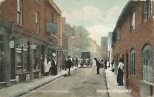 More details for vintage bedfordshire postcard, chapel street, luton. anderson series no.165 jx2