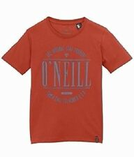 O'NEILL BOYS EASY COMPANY RUST RED S/S SLEEVE TOP T TEE SHIRT 9-16 YRS BNWT