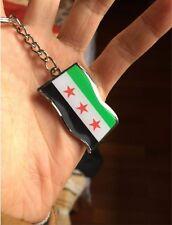 2 Syria Keychain Flag Epoxy Key chain Souvenir Syrian Key Chain Syrian Keychain