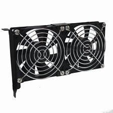 90mm Dual Fan ultra-Slient Graphics Card Cooler Cooling for PC Computer Case PCI