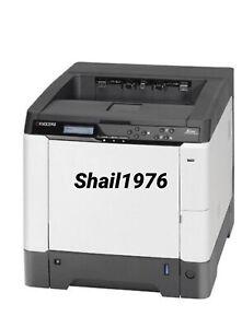 Kyocera Ecosys Color Laser color Printer FS-C5250DN Low P/Count  7528