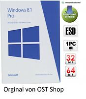 Windows 8.1 Pro OEM Multilanguage Aktivierungs-Schlüssel 32 / 64 Bit