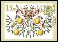 GB UK MK 1980 WEIHNACHTEN CHRISTMAS NOEL MAXIMUMKARTE MAXIMUM CARD MC CM dt23