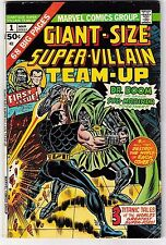 GIANT-SIZE SUPER-VILLAIN TEAM-UP #1 (FN-) DOCTOR DOOM! SUB-MARINER! 1975