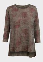 New Epilogue Shimmer Jersey Oversize Size 10,12,14,16,18,20 Longline Top Tunic