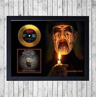 KING DIAMOND SPIDER'S CUADRO CON GOLD O PLATINUM CD EDICION LIMITADA. FRAMED