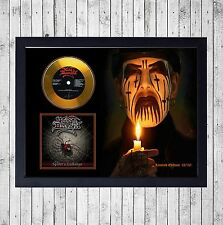 KING DIAMOND SPIDER'S CUADRO CON GOLD O PLATINUM CD EDICION LIMITADA. FRAMED