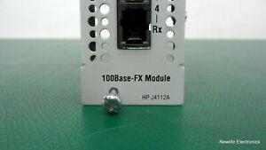 HP J4112-69001 ProCurve 100Base-FX Module J4112-60001 J4112A
