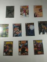Lot Of 10 Valiant Chaos Malibu Comics Magnus Evil Ernie Bad Kitty Chastity Rune