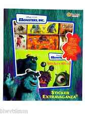 Monster's Inc Sticker Box with Sticker Album-Vintage-Great as a Gift or Collecto