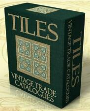 TILES 41 Vintage Trade Catalogues & Books on DVD Tiling, Mosaic, Ceramic Tiles