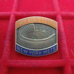 1969 New York Mets World Series Press Pin
