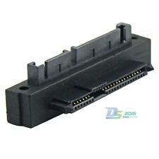 1pc SATA ( 7+15 Pin ) 22 Pin Male to SAS Female Jack Angled Adapter for DELL PC