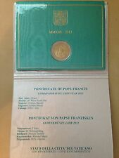 2013 vatican 2 euro commemorative youth day pope francis new in official folder
