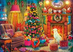Gibsons Festive Fireside Jigsaw Puzzle (1000 Pieces)