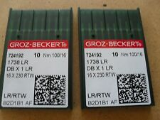 20X LEATHER POINT NEEDLES TO SUIT INDUSTRIAL STRAIGHT SEWERS 16X230 100/16