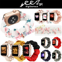 ​Scrunchie Cute Pattern Loop Band Strap For Apple Watch iWatch Series6/5/4/3/2/1